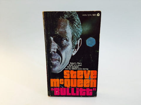Bullitt by Robert Pike 1969 Movie Tie-In Edition Paperback