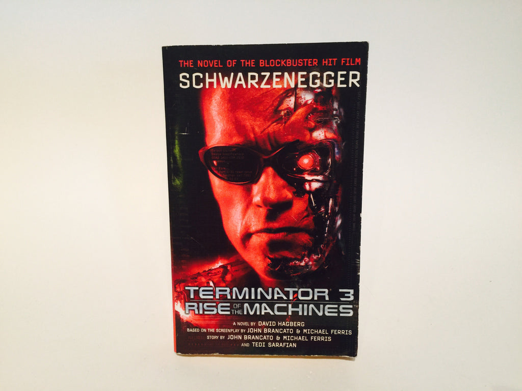 Terminator 3: Rise of the Machines Film Novelization 2003 Paperback - LaCreeperie