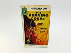 The Burning Court by John Dickson Carr 1954 Paperback - LaCreeperie