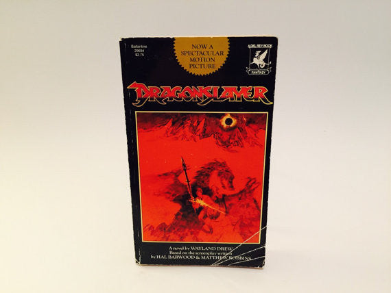 Dragonslayer 1981 Film Novelization Paperback - LaCreeperie