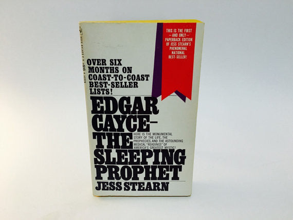 Edgar Cayce - The Sleeping Prophet by Jess Stearn 1968 Paperback - LaCreeperie