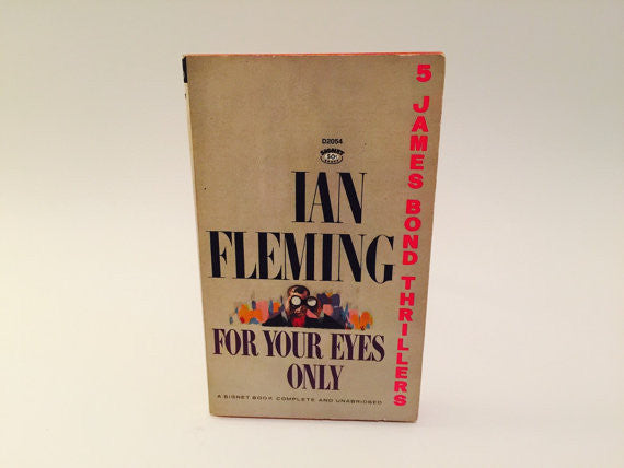 For Your Eyes Only by Ian Fleming 1965 Paperback - LaCreeperie