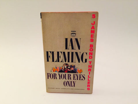 For Your Eyes Only by Ian Fleming 1965 Paperback