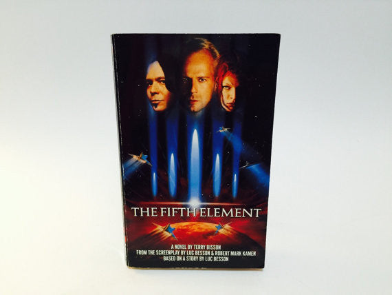 The Fifth Element Film Novelization 1997 Paperback - LaCreeperie