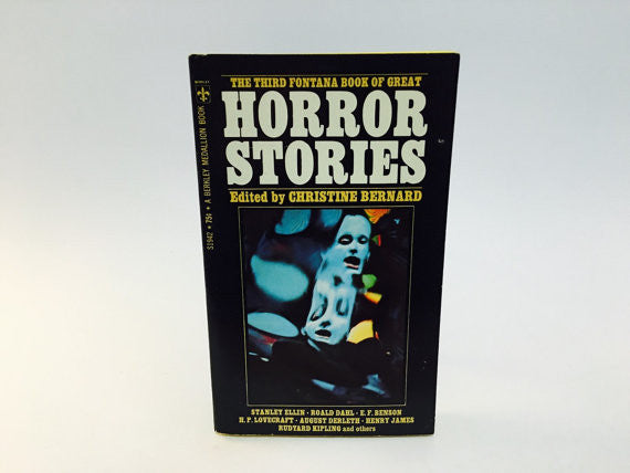 The Third Fontana Book of Great Horror Stories 1971 Paperback Anthology - LaCreeperie
