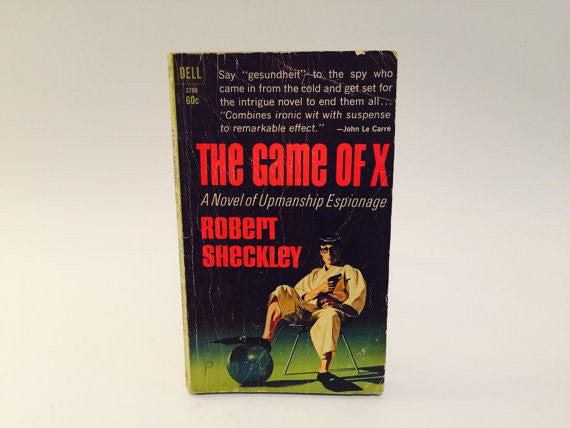 The Game of X by Robert Sheckley 1966 Paperback - LaCreeperie