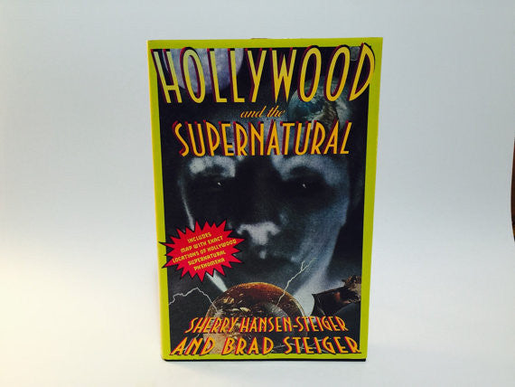 Hollywood and the Supernatural Sherry & Brad Steiger 1990 Hardcover - LaCreeperie