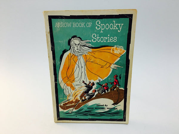 Arrow Book of Spooky Stories 1962 Softcover