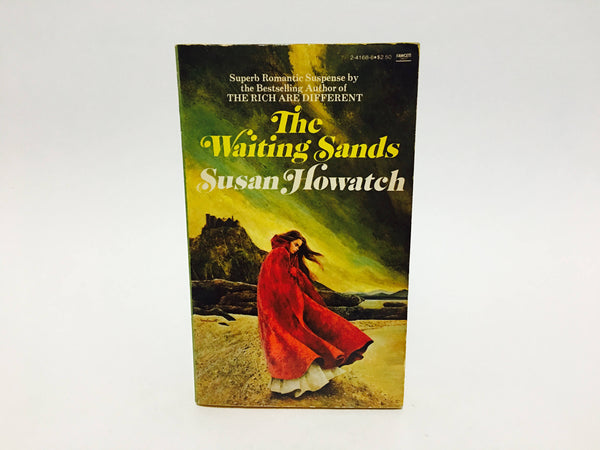 Vintage Gothic Romance Book The Waiting Sands by Susan Howatch 1966 Paperback