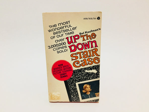Up The Down Staircase by Bel Kaufman 1967 Movie Tie-In Edition Paperback