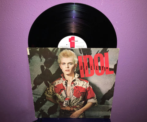 Billy Idol - Self Titled Vinyl LP 1982 Pop Punk Rock