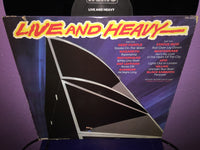 Live and Heavy Vinyl LP 1981 UK IMPORT Compilation