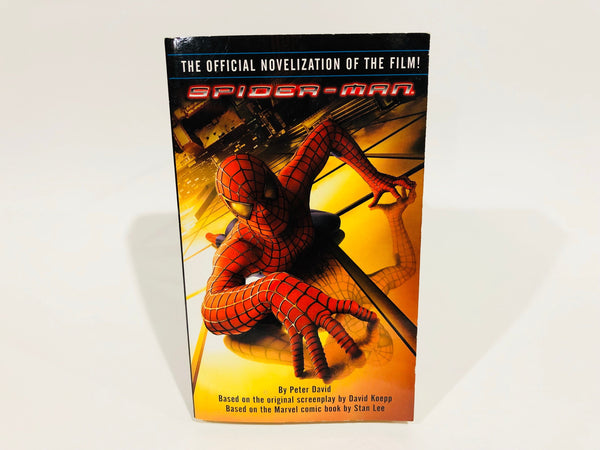 Spiderman Film Novelization Paperback Book Marvel