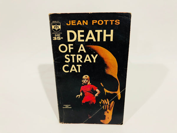Death of a Stray Cat by Jean Potts 1961 Paperback