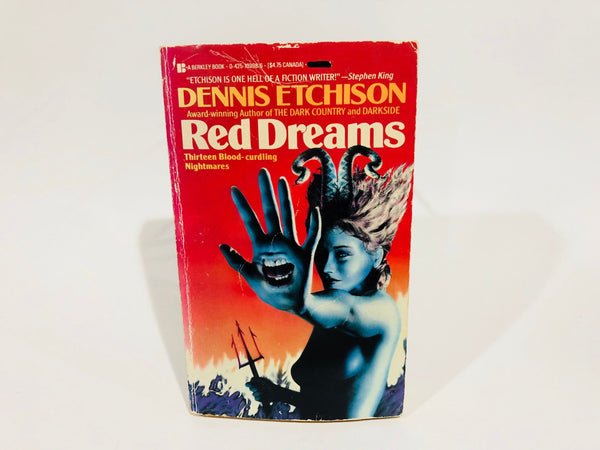 Red Dreams by Dennis Etchison 1987 Paperback Anthology