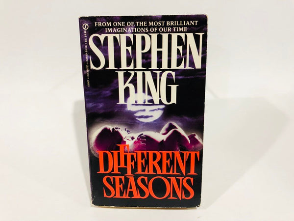 Different Seasons by Stephen King 1990s Edition Paperback Anthology