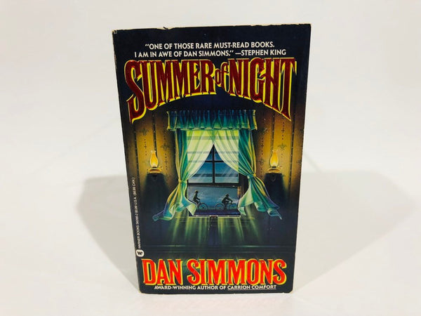 Summer of Night by Dan Simmons 1992 First Edition Paperback