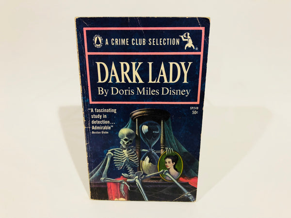 Dark Lady by Doris Miles Disney 1964 Paperback