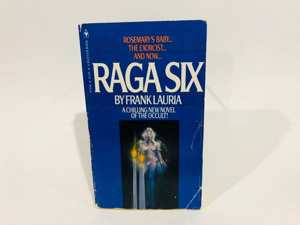 Raga Six by Frank Lauria 1972 Paperback