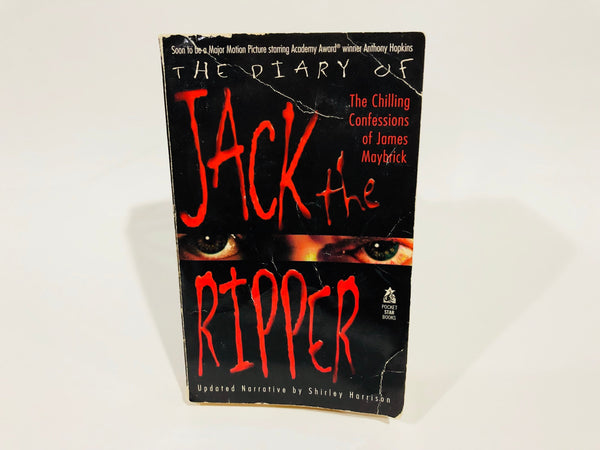 Prince Jack: The Diary of Jack the Ripper by Shirley Harrison 1995 Paperback