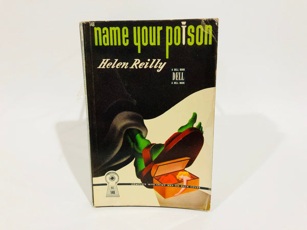 Name Your Poison by Helen Reilly 1942 Paperback