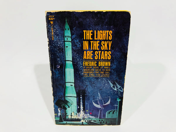 The Lights In The Sky Are Stars by Frederic Brown 1963 Paperback
