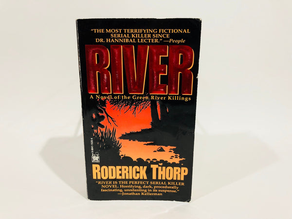 River - A Novel of the Green River Killings by Roderick Thorp 1996 Paperback