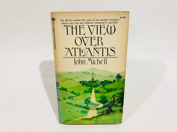 The View Over Atlantis by John Michell 1973 Paperback