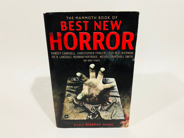 The Mammoth Book of Best New Horror 22 Edited by Stephen Jones Softcover Anthology