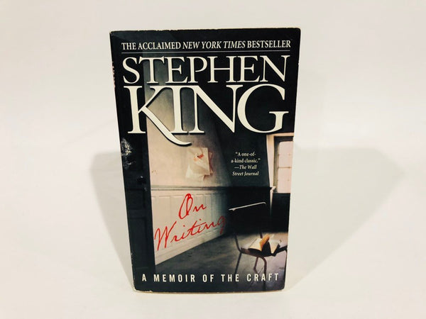 On Writing by Stephen King Paperback Memoir 2002 Paperback