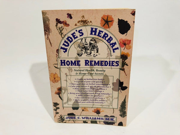 Jude's Herbal Home Remedies by Jude C. Williams 1994 Softcover