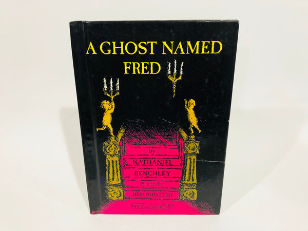 A Ghost Named Fred by Nathaniel Benchley 1997 Edition Hardcover