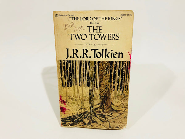The Two Towers by J. R. R. Tolkien 1976 Edition Paperback LOTR
