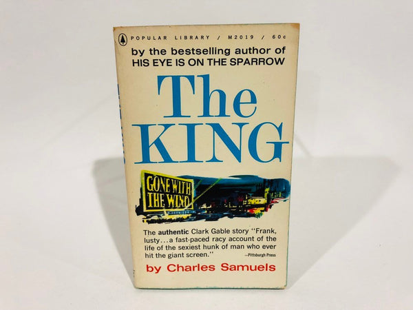The King by Charles Samuels 1963 Paperback Clark Gable