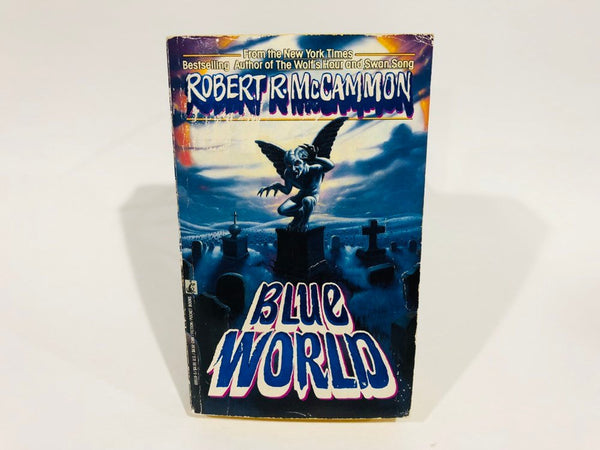 Blue World by Robert McCammon 1990 First Edition Paperback Anthology