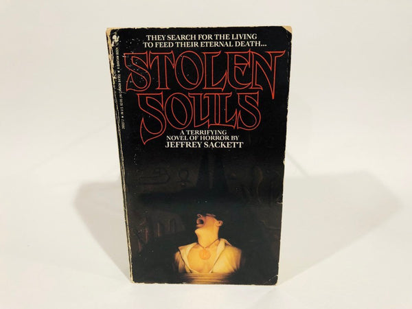 Stolen Souls by Jeffrey Sackett 1987 First Edition Paperback