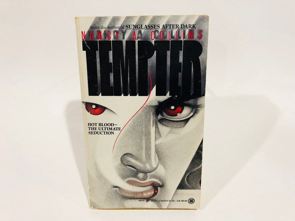 Tempter by Nancy A. Collins 1990 First Edition Paperback