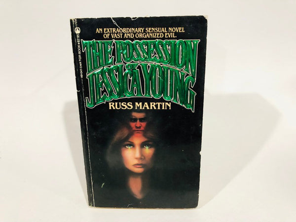 The Possession of Jessica Young by Russ Martin 1982 First Edition Paperback