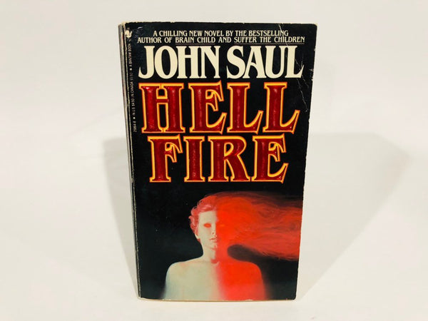 Hell Fire by John Saul 1986 First Edition Paperback