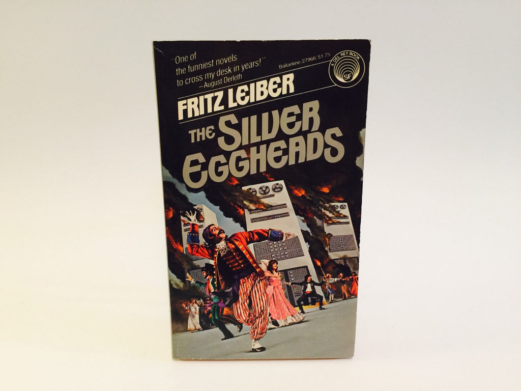 The Silver Eggheads by Fritz Leiber 1979 Paperback - LaCreeperie