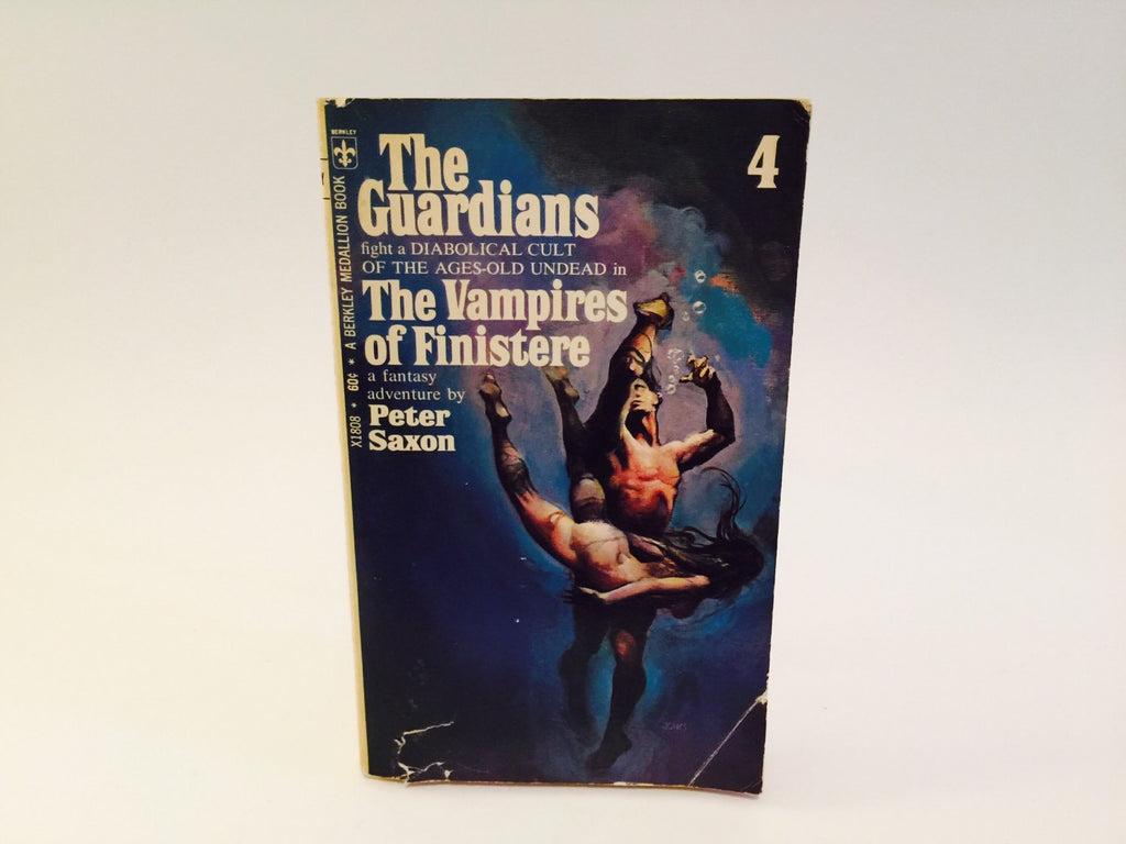 The Guardians #4: The Vampires of Finistere by Peter Saxon 1970 Paperback - LaCreeperie