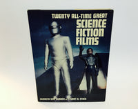 Twenty All-Time Great Science Fiction Films by Von Gunden & Stock 1982 Hardcover - LaCreeperie