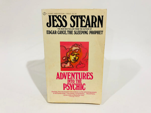 Adventures Into The Psychic by Jess Stearn 1971 Paperback