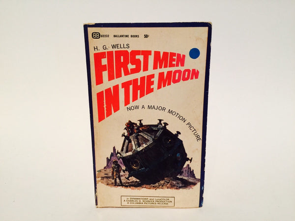 The First Men in the Moon by H. G. Wells 1964 Movie Tie-In Edition Paperback - LaCreeperie