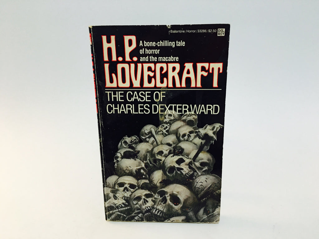 The Case of Charles Dexter Ward by H.P. Lovecraft 1982 Paperback Book - LaCreeperie