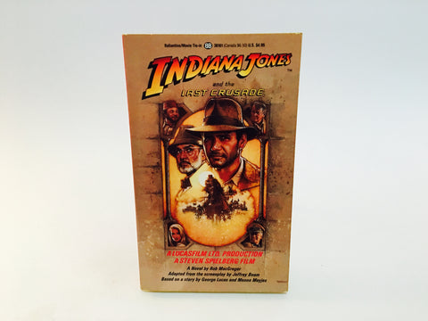 Indiana Jones and the Last Crusade 1989 Film Novelization Paperback