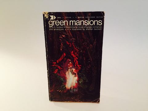 Green Mansions by W.H. Hudson 1970 Paperback