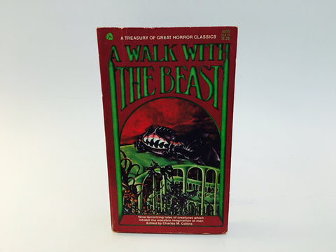 A Walk with the Beast 1969 Paperback Anthology