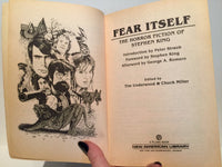 Fear Itself: The Horror Fiction of Stephen King 1984 Paperback - LaCreeperie