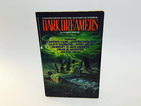 Dark Dreamers: Conversations with the Masters of Horror by Stanley Wiater 1990 Softcover